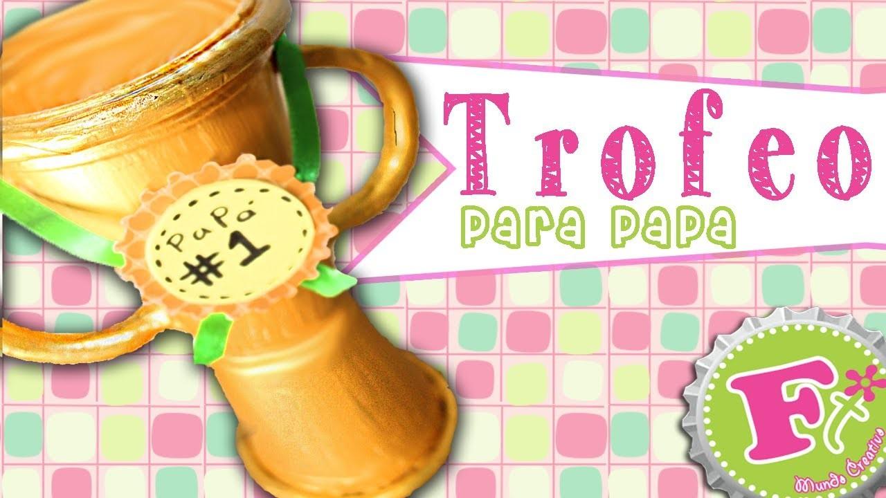 DIY: Trofeo para Papá #1 (ecológico) - floritere - 2014