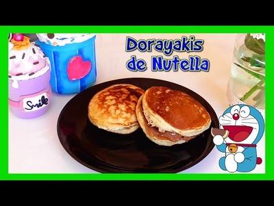 Dorayakis de Nutella (receta sin horno) son parecidos a los Hot cakes con alguna diferencia Isa ❤️