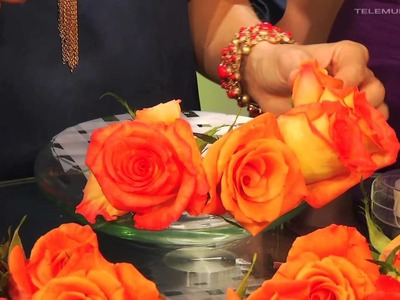 Entre Tú y Yo | Aprende como hacer un arreglo floral fácil y rápido | Telemundo
