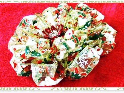 Flores de Navidad pétalos corazón Christmas flower petal heart