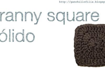 Granny square solido