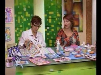 Habil&Dades Con Raquel - Alejandra Abasalo 2.4 Jabón, Tarjeta y Bolso Decorado con Papel