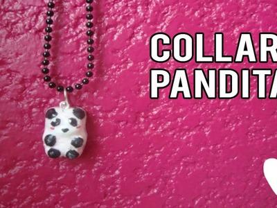 Haz tu propio Collar con panditas | como hacer un collar de panda