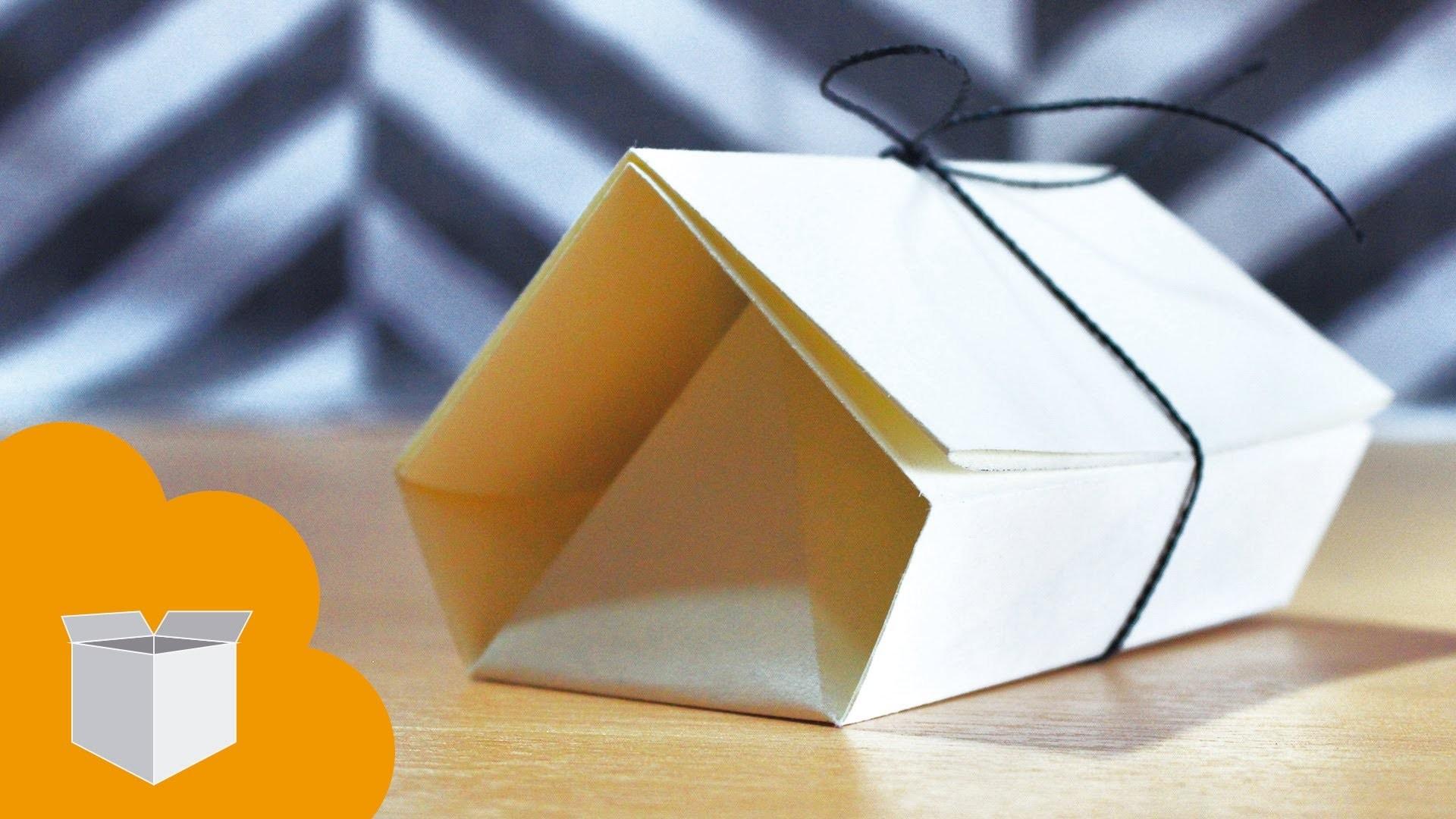 House gift box Guarda regalitos - Dia de los enamorados. Origami box