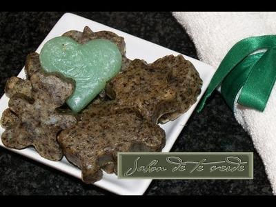 Jabón de Té Verde y Yogur - DIY - Green Tea and Yogurt Soap