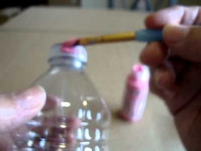 Manualidad Botellas de plastico