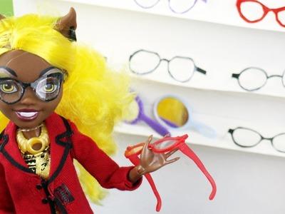 Manualidades para muñecas: Haz lentes o gafas para tus muñecas - EP 738