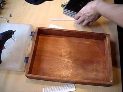 Telar de pulseras casero Reciclaje (DIY)