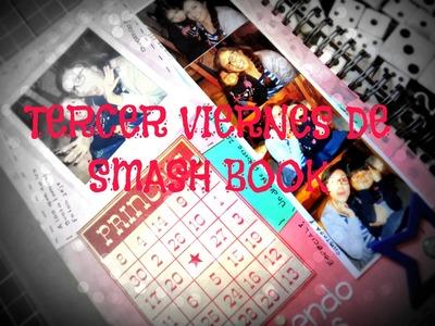Tercer viernes de SMASH Book - Haz una pàgina conmigo