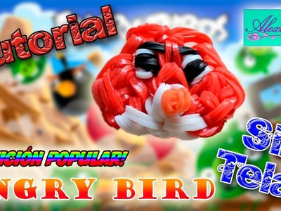 ♥ Tutorial: Angry Bird de gomitas (sin telar) ♥