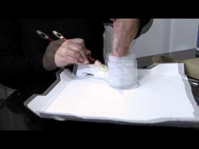 Tutorial: Como decorar un portavelas con azúcar