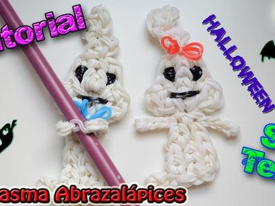 ♥ Tutorial: Fantasma abrazalápices de gomitas (sin telar) ♥