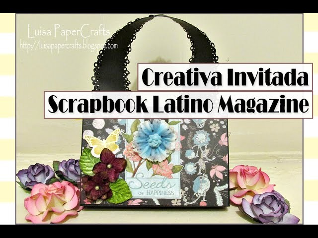 Bolsa organizadora de tarjetas para Scrapbook Latino Magazine