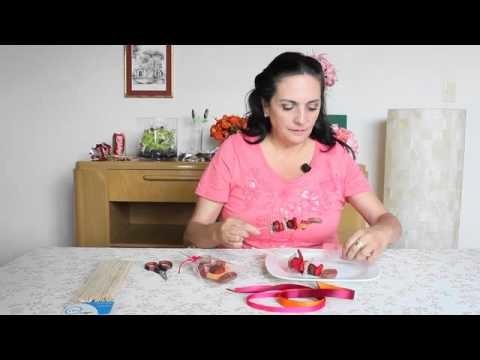 Cómo hacer una banderilla con varios dulces
