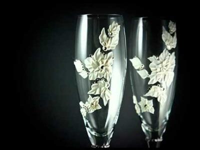 Copas únicas para brindar con cristales Swarovski ! - PARA TU BODA!!!!!