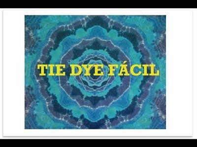 DIY Camiseta Tie Dye