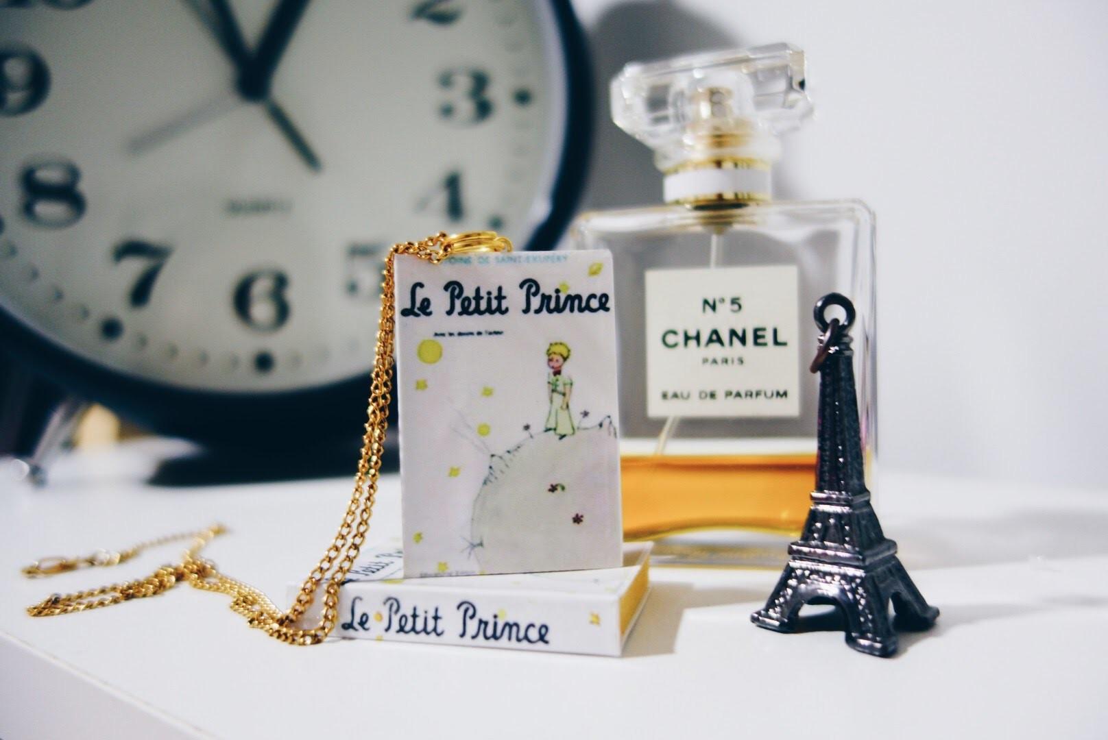 DIY Collar - Mini libro del Principito.  book, The Little Prince