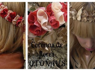 DIY: Coronas de Flores Otoñales | BeautyStylo