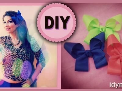 DIY: Moño de liston estilo Mariposa