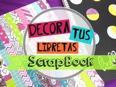 Libretas scrapbook-tutorial+SORTEO INTERNACIONAL +SALUDOS♥