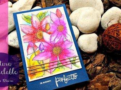 Pintura en Acuarela, Aprende a Pintar una Preciosa Tarjeta
