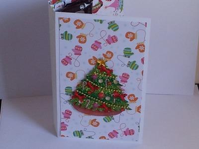 Tarjeta Con Dulces (Especial De Navidad)