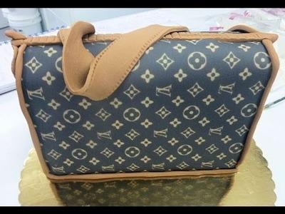Tarta de bolso de Louis Vuitton