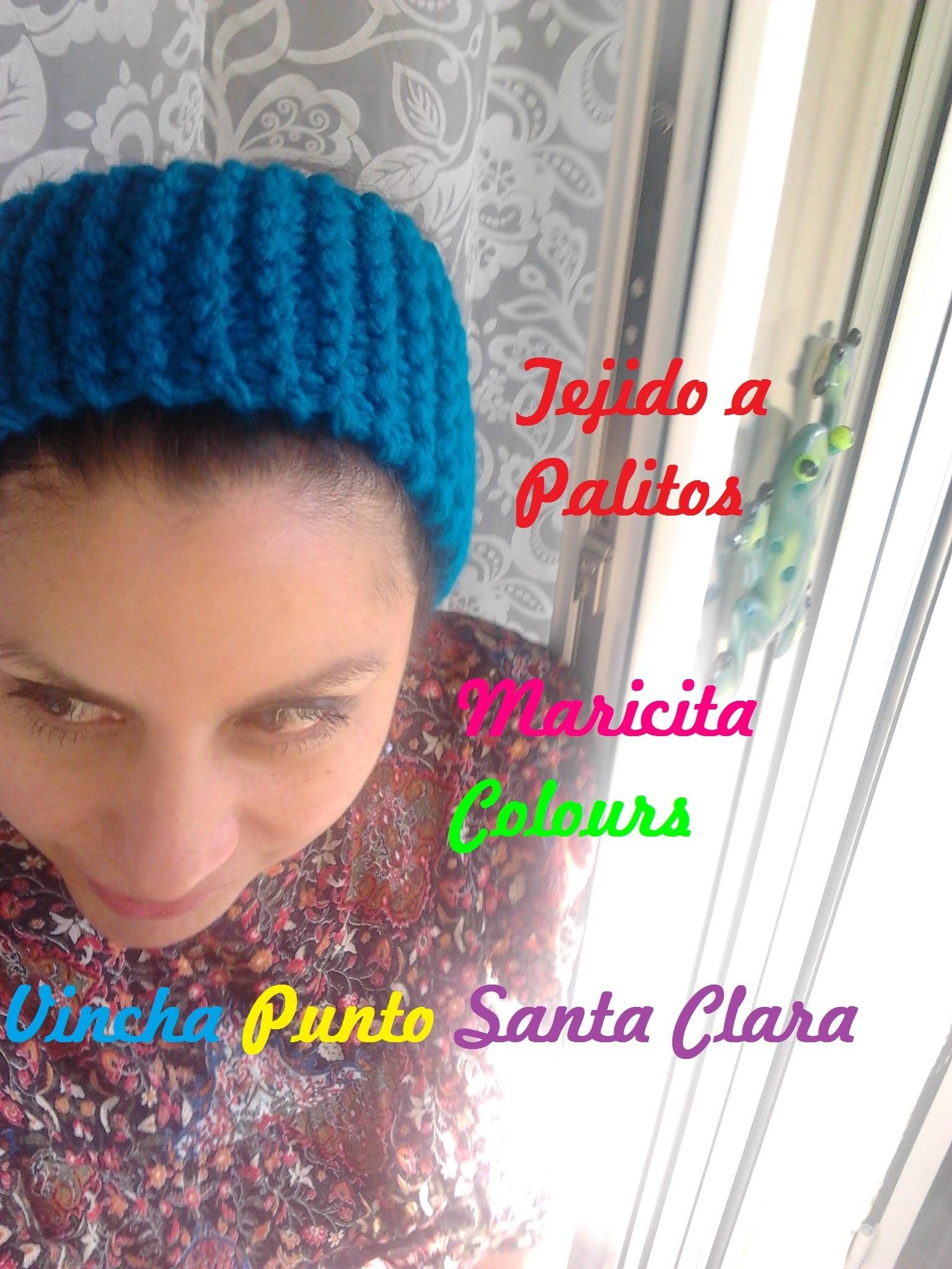 "Tejido a Palitos Tutorial Vincha ""Maricita"" Diadema por Maricita Colours"