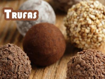 Trufas de chocolate con licor receta original