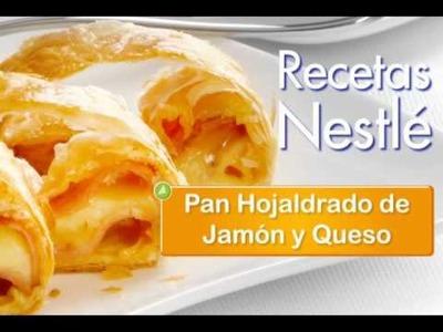 Video Receta:Pan Hojaldrado de Jamón y Queso