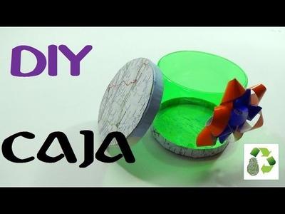 137. DIY CAJA (RECICLAJE DE BOTELLA PLÁSTICA)