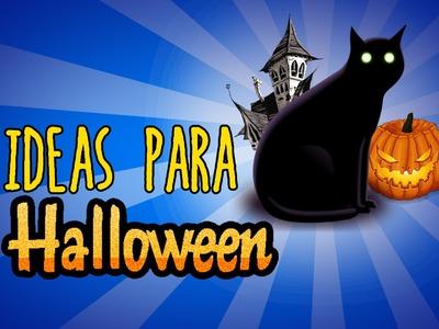 5 ideas para triunfar en Halloween (RECOPILACIÓN)