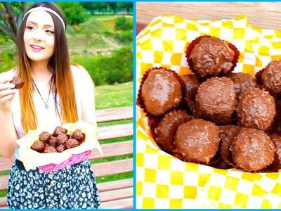 ¡Cómo hacer Ferrero Rocher Fácil! Con sólo 4 cosas - Raiza Revelles