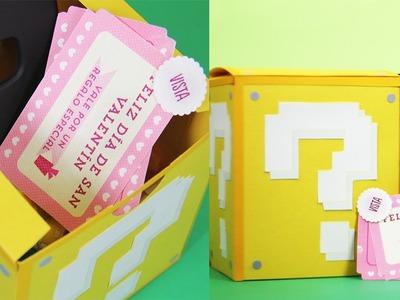 Caja de los sentidos (inspirada en Mario) - San Valentín | Craftingeek