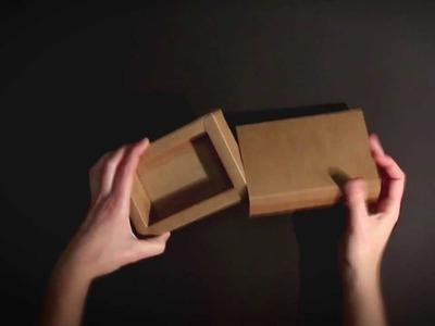Cajas de papel - Vídeo de montaje ref. 1508 SelfPackaging