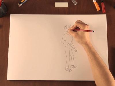 Cómo dibujar personajes de los comics : Tips de dibujo