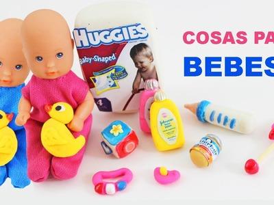 Cómo hacer articulos de bebes para tus muñecas - Manualidades para muñecas