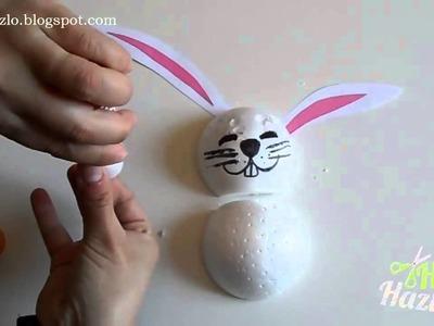 Cómo hacer un Conejo de Pascua.