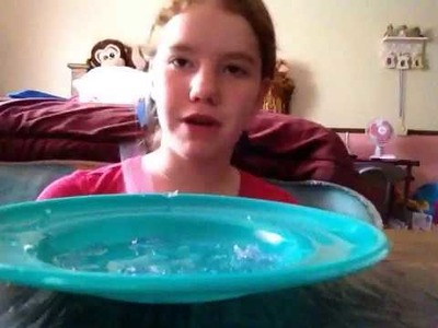 Como hacer una bolita de gel?