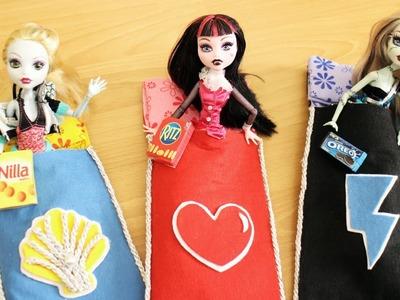 Cómo hacer una bolsa o saco para dormir sin coser para tus muñecas