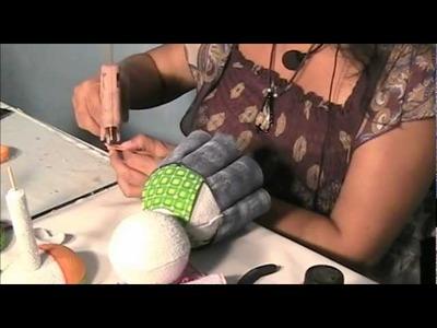 Como hacer una Fofucha Coneja en Fomi, Goma Eva o Foami (2.2)