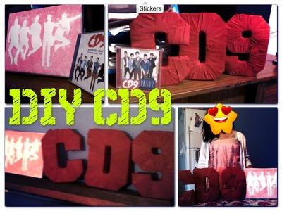 DIY-CD9 (2 formas  de decorar tu habitacion)  | Ximena Anahi