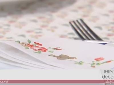 DIY: Cómo hacer servilletas de tela con decoupage | Hazlo tú mismo
