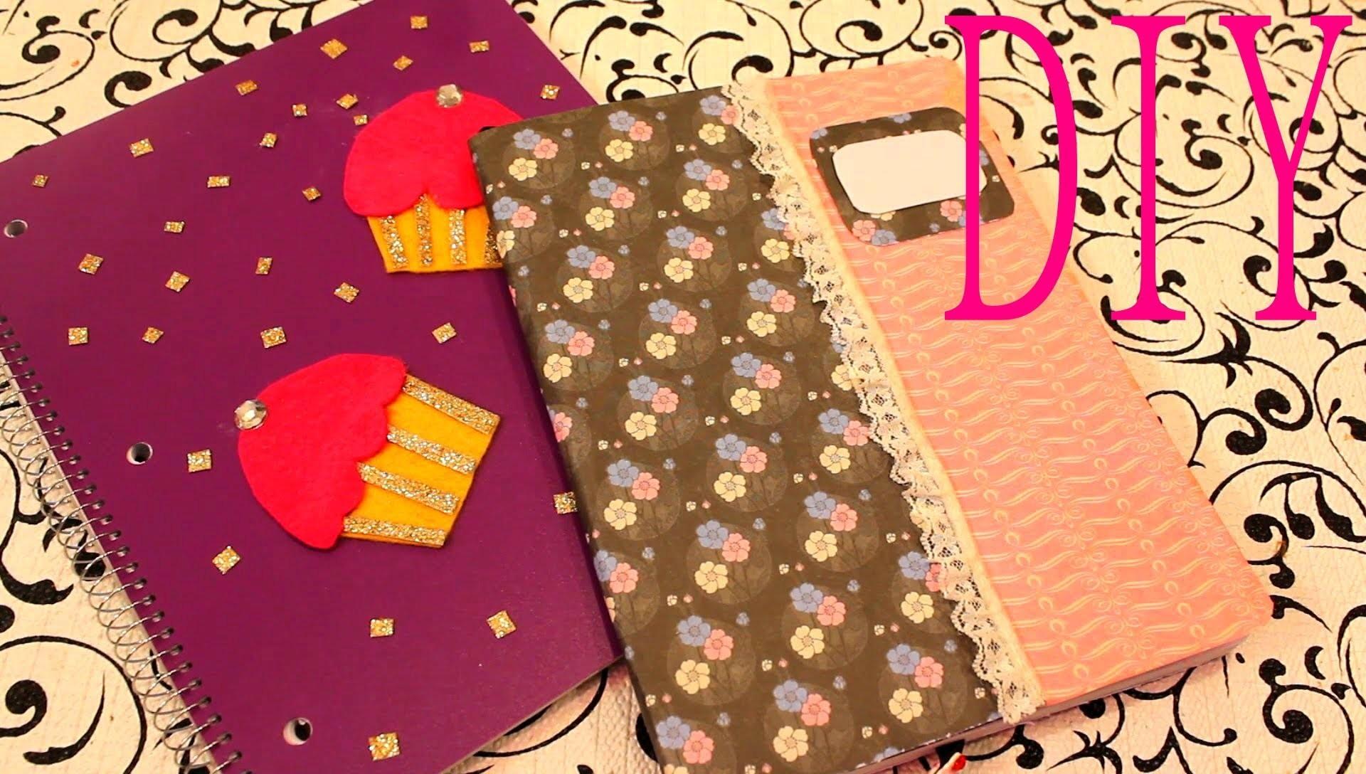 DIY Decora tus cuadernos Facilmente