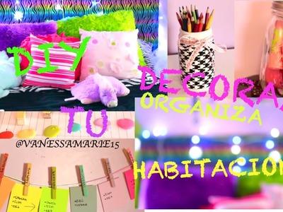 DIY: DECORA Y ORGANIZA TU HABITACION | VanessaMarie15