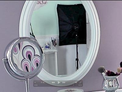 DIY pintar un espejo viejo