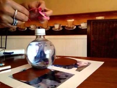 Esfera para fotografias ( reciclando)