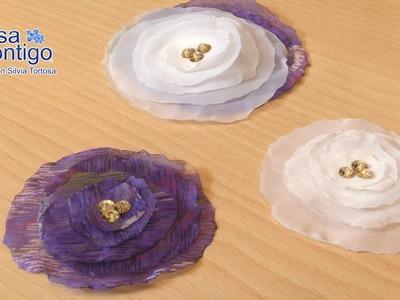 Flor de Armani Manualidad de Tela Ultima moda