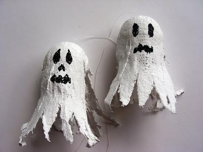 Halloween - Fantasma para el Día de Muertos - Manualidades para toos
