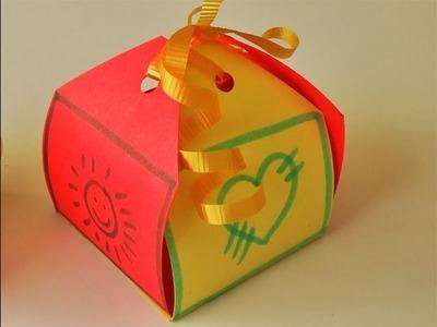 Manualidades - Cajita para regalo (fácil) - Manualidades para todos